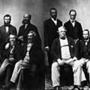 Jefferson Davis Trial Art Print