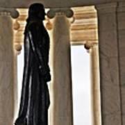 Jefferson Memorial 1  Art Print