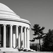 Jefferson Memorial Building In Washington Dc Art Print