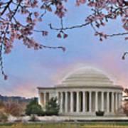 Jefferson Memorial Art Print