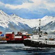 Jeffrey Foss Samson Tow Art Print