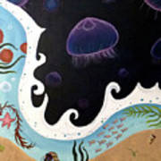 Jellyfish Jam Art Print