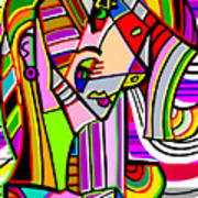 Jennifer Aniston Art Print
