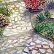 Jennifers Garden Art Print