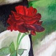 Jennifers Rose Art Print