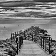 Jennings Beach Dock Art Print