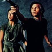 Jenny Agutter And Michael York, Logan's Run Art Print