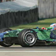 Jenson Button, Honda Ra107  Art Print