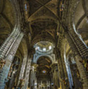 Jerez De La Frontera Cathedral Cadiz Spain Art Print