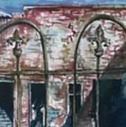 Jerome Ruins Art Print