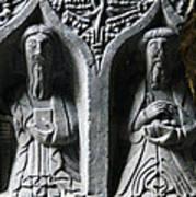 Jerpoint Abbey Irish Tomb Weepers Saints County Kilkenny Ireland Art Print