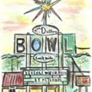 Jerry Dutler's Bowl Art Print