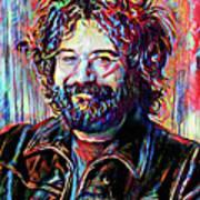 Jerry Garcia Art - The Grateful Dead Art Print