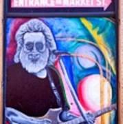 Jerry Garcia - San Francisco Art Print