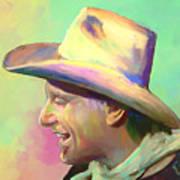 Jerry Jeff The Gypsy Songman Art Print by GCannon