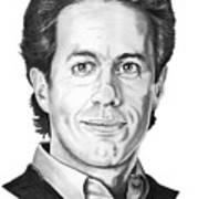 Jerry Seinfeld Art Print