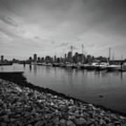 Jersey City Yacht Club Art Print