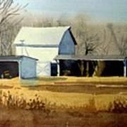 Jersey Farm Art Print