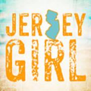 Jersey Girl Art Print