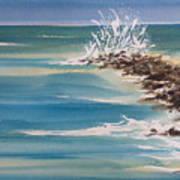 Jersey Rocks Art Print