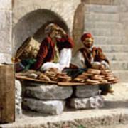 Jerusalem - Bread Seller Art Print