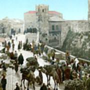 Jerusalem: Bazaar, C1900 Art Print