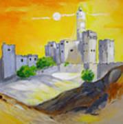 Jerusalem City Of Gold Art Print