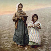 Jerusalem Girls, C1900 Art Print