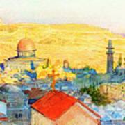 Jerusalem In 1899 Art Print
