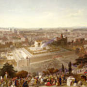 Jerusalem In Her Grandeur Print by Henry Courtney Selous
