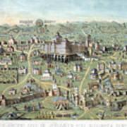 Jerusalem: Solomons Temple Art Print