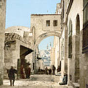 Jerusalem: Via Dolorosa Art Print