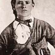 Jesse James (1847-1882) Art Print