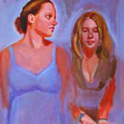 Jessica And Kate Art Print