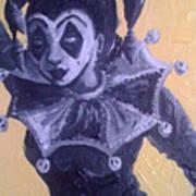 Jester Girl #1 Art Print