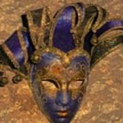 Jester's Mask Art Print