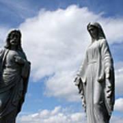 Jesus And Mary Art Print