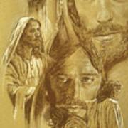 Jesus Art Print by Bryan Dechter