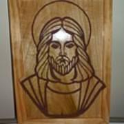 Jesus Frame Art Print