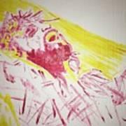 Jesus Glory Art Print