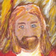 Jesus Is The Christ The Holy Messiah 5 Art Print by Richard W Linford