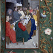 Jesus: Last Supper Art Print
