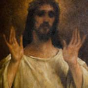 Jesus Meets The Daughters Of Jerusalem. Jesus Comfort Them. 8. Station Of The Cross Art Print