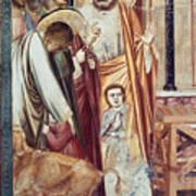 Jesus & Moneychanger Art Print