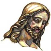 Jesus No 3 Art Print by Edward Ruth