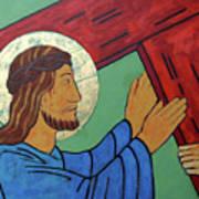 Jesus Takes Up His Cross Art Print