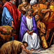 Jesus Tormented Art Print