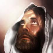 Jesus Wept Art Print