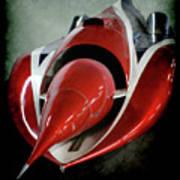 Jet Car Art Print