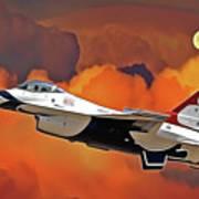 Jet Set Art Print